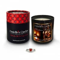 Smell Of Christmas Jewelry Surprise Candle