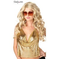 Hoty Super Model Wig - Blonde - One Size Fits most