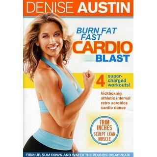Denise Austin - Burn Fat Fast Cardio Blast [DVD]