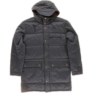 RVCA Mens Hendry Fleece Lined Hooded Coat - L
