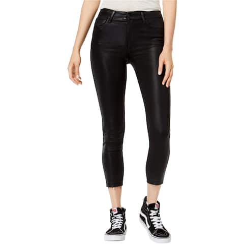 Joe's Womens Coated Skinny Fit Jeans