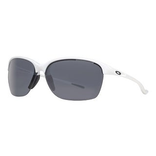 Oakley OO9191-04 Unstoppable White Polarized Gray Gradient Sport Sunglasses - 65mm-9mm-130mm
