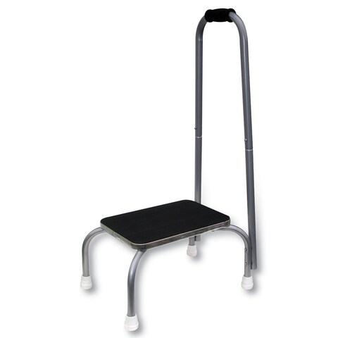 Footstool With Handle - 9 in.