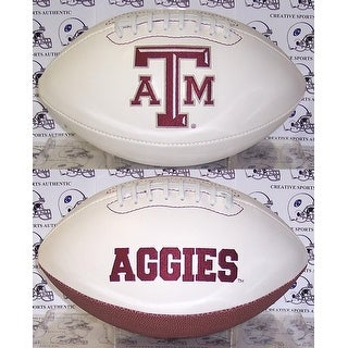 "Texas A&M Embroidered Logo ""Signature Series"" Football"
