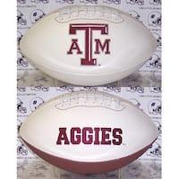 "Texas A&M Embroidered Logo ""Signature Series"" Football"