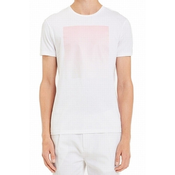 bceb7aca Shop Calvin Klein Mens Graphic Print Crewneck Tee T-Shirt - On Sale - Free  Shipping On Orders Over $45 - Overstock - 27006033