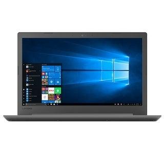 """Lenovo IdeaPad AMD A6 4GB 1TB HDD 15.6"""" HD LED Windows 10 Laptop"""
