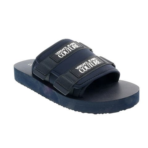 Versace Jeans Couture Blue Contemporary Summer Sandals-