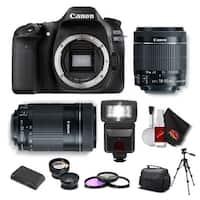 Canon EOS 80D DSLR Camera (Body Only) KitIntl Model