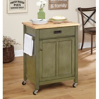 Simple Living Jacksonville Rolling Kitchen Cart