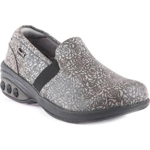 Therafit Women's Annie Slip-On Shoe Grey Leather