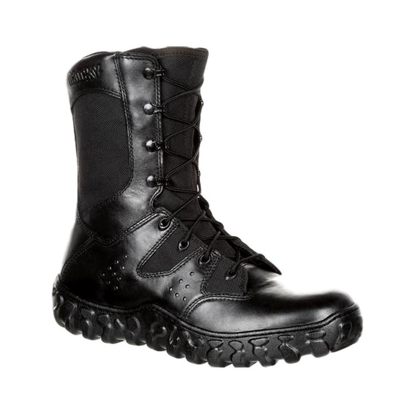 Rocky Tactical Boots Mens S2V Predator Lace Duty Black