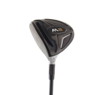 New TaylorMade M2 2016 3-Wood 15* RE-AX 65 Stiff Flex Graphite LEFT HANDED +HC
