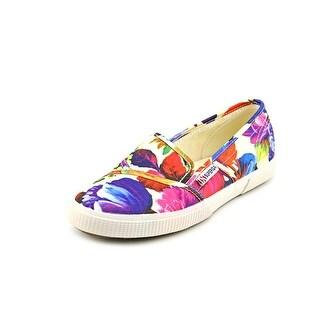 Superga 2210 Open Toe Canvas Slides Sandal