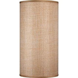 "Volume Lighting V0027 20"" Height Cylindrical Shade"
