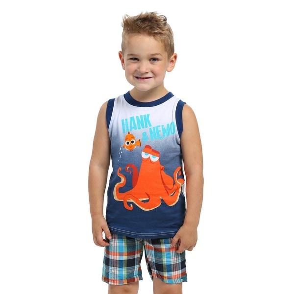 Hank & Nemo Kids Muscle Shirt with Shorts