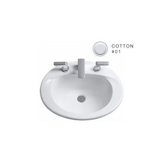 ... Faucet Com Lt542g 01 In Cotton By Toto White Finish Toto Sinks Store  Shop The Best ...