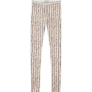 Printed Leggings In Light Pink - Multi (Option: 12)