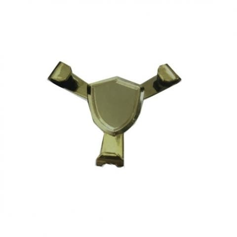 Golden Color Three Jaw Support Phone Holder