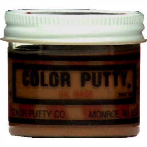 Color Putty 118 Oil Based Wood Filler Putty, Cherry, 3.68 Oz