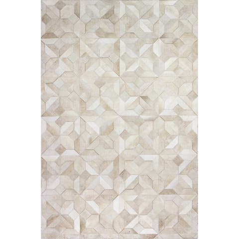 Bashian Nixon Contemporary Hand Stitched Area Rug