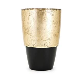 IMAX Home 83909  Olsen Glass Vase - Black