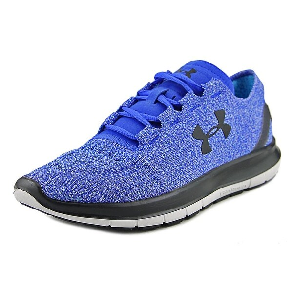 Under Armour Speedform Slingride Tri Men Round Toe Synthetic Blue Running Shoe