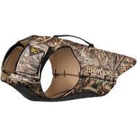 Browning p5490199 browning dog vest 3mm neoprene medium w/handle max5 45-55lb