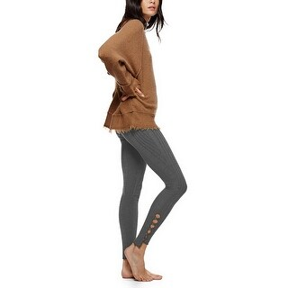 Free People Intimately Cutout Knit Leggings - S
