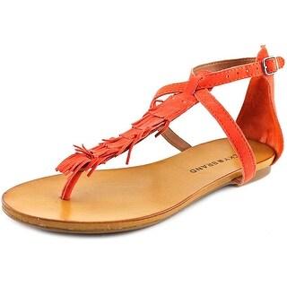 Lucky Brand Wekka Open Toe Canvas Thong Sandal