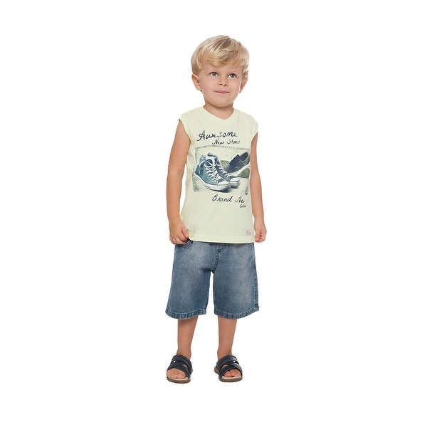 481dd1c3702b Shop Toddler Boy Tank Top Little Boy Summer Graphic Muscle Shirt ...