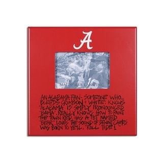 University of Alabama Definition of a Fan Picture Frame
