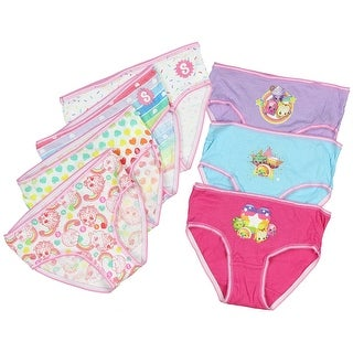 Shopkins Girls 7 Pack Brief Style Panties