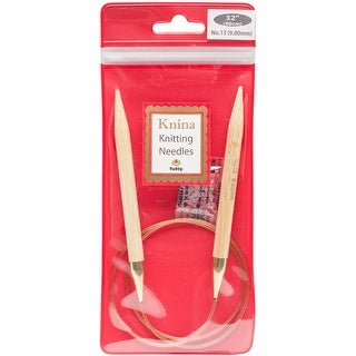 "Tulip Knina Knitting Needles 32""-Size 13/9mm"