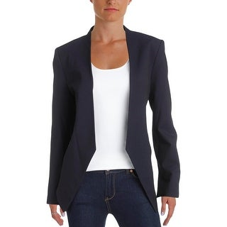 Ivanka Trump Womens Open-Front Blazer Long Sleeve Faux Belt (3 options available)