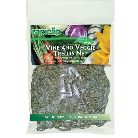 Luster Leaf® 869 Vine & Veggie Trellis Net, Green, 5' x 30'