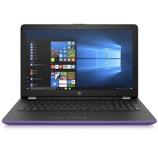 "Refurbished - HP 15-bs007ds 15.6"" Touchscreen Laptop intel Pentium N3710 1.60GHz 4GB 1TB WIN10"