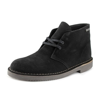 Clarks Originals Desert Boot Men  Round Toe Suede Black Chukka Boot