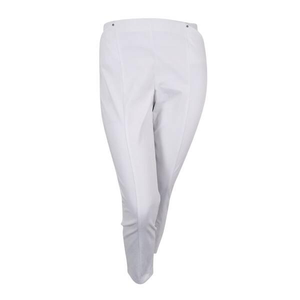 Shop Alfani Women\'s Plus Size Pull-On Skinny Pants - On Sale - Free ...