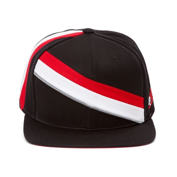 393a70c177562 Shop Mitchell   Ness Portland Trailblazers Blank Front Short Hook Snapback  - Free Shipping On Orders Over  45 - Overstock - 16949394