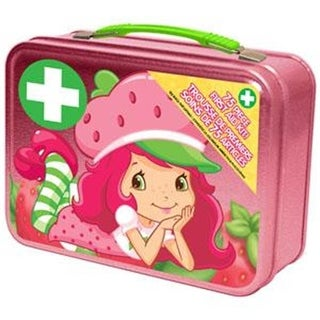 COSRICH GROUP Strawberry Shortcake First Aid Kit, 75 Piece