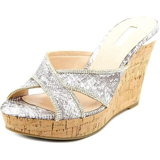 GUESS Womens ELEONORA Open Toe Casual Slide Sandals