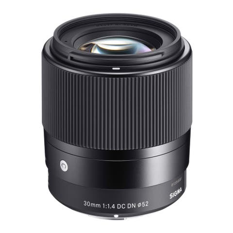Sigma 30mm f/1.4 Contemporary DC DN Prime Lens Canon EF-M