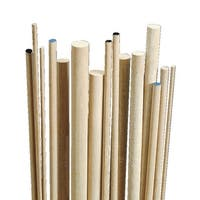Creativity Street Wood Smooth Birch Dowel, 1/8 X 36 in, White, Pack of 10