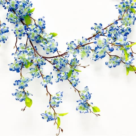 5.3ft Cherry Blossom Flower Vine Garland