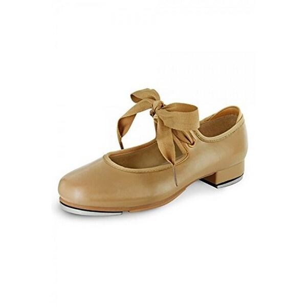Bloch Girls Annie Tyette Tap Shoe, Btan, 12M