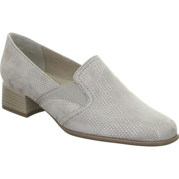 22b76e672df Shop ara Women s Grace 41801 Loafer Smoke Puntikid - Free Shipping Today -  Overstock.com - 17042041