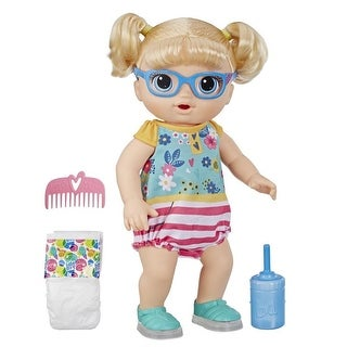 Link to Baby Alive Step 'N Giggle Baby Blonde Hair Doll Similar Items in Dolls & Dollhouses
