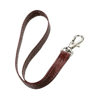 Insten 7.5-inch Leather Hand Wrist Lanyard With Metal Lobster Clip (Pack of 5)