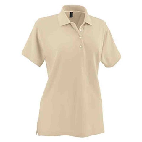 Page & Tuttle Womens No-Curl Pique Golf Casual Polo